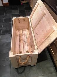 diy pallet chest from only pallets wood 101 ideas regarding wooden bench decorations 14