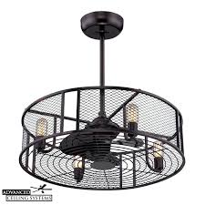 cage fan light 8 eye catching cage enclosed ceiling fans you ll love advanced fantasy caged cage fan light extraordinaire