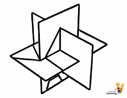 Forms coloring pages for kids. Grand Geometric Coloring Pages Free Geometry Printables Shapes