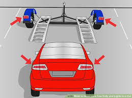 how to hook up a tow dolly and lights to a car pictures image titled hook up a tow dolly and lights to a car step 1