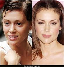 female celebrities without makeup makeup