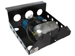 on board air compressor. afe power 46-79001 glide guard on-board air compressor mount on board p