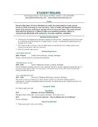 Free Resume Generator Enchanting Student Resume Builder Resume Examples For Students Free Resume