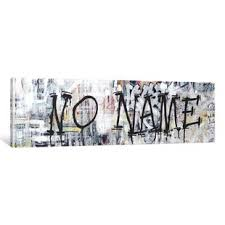 urbanites series where the streets have no name textual art on canvas on wall art street names with street names wall art wayfair