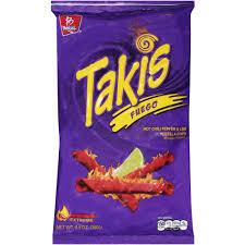 barcel takis fuego tortilla chips oz com
