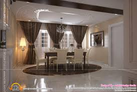 Interior Design Of Living Room Dining Room And Kitchen Kerala - House and home dining rooms