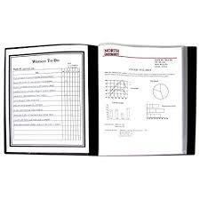 sheet protector book amazon com c line 12 pocket bound sheet protector presentation