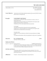 Need Help Creating Resume