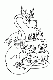 Small Picture Free Printable Happy Birthday Coloring Pages For Kids Coloring