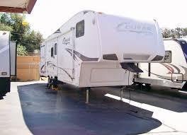 2009 keystone cougar 320 srx 5th wheel toy hauler