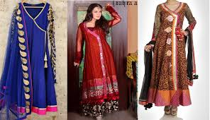 Famous Dress Designers 2017 Latest Angrakha Style Dresses Designs 2016 2017 Collection