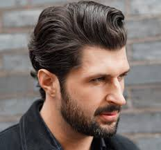 Slicked Back Hair Style long back hairstyle for men 12 best slicked back hair styles for 5616 by wearticles.com
