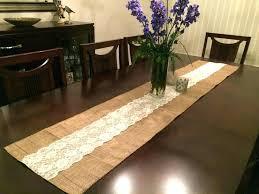 table runner length inch table runner runners length table runner length for 60 round