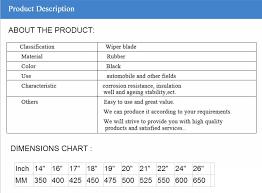 Neutral Packing Flat Windshield Logo Wiper Blade Rubber Car Wiper Buy Logo Wiper Blade Windshield Wiper Blade Rubber Car Wiper Product On