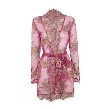 <b>Agent Provocateur</b> Liliana Kimono Pink/<b>Blue</b>-4 ($2,430) liked on ...