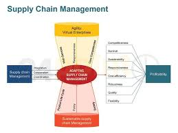 Warehouse Management Process Flow Chart Ppt Supply Chain Management Value Chain Diagrams Supply