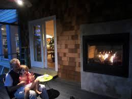 heat n glo twilight ii indoor outdoor gas fireplace