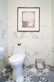view full size white and gray bathroom features half