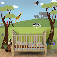 jungle safari theme stencil kit for painting a wall mural contemporary wall stencils by my wonderful walls