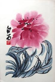 22 original woodcuts by qi baishi in 4 book under silk linen cover ilration