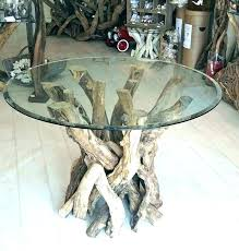 tree trunk dining table uk tree trunk dining table glass top base
