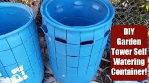barrel garden. DIY Self-Watering Container Using A 55 Gal Barrel! Garden Tower Style! Barrel