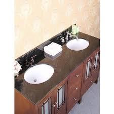 bathroom vanity granite backsplash. Baltic Brown Granite, Backsplash And CUPC Sink -- Note: This Product Is A Vanity Top Only. Bathroom Granite .