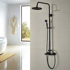 bathtub and shower faucet combo awesome rozin bathroom shower faucet set 8 rain shower head hand