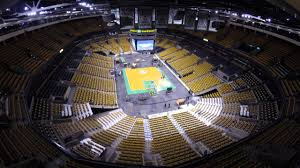 time lapse at the td garden celtics to bruins 12 31 14