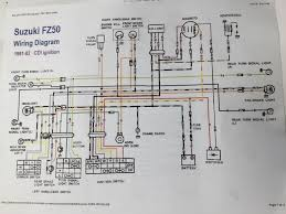 suzuki fz50 wiring diagram wiring diagram and schematic n frame schematic zen diagram
