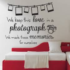 Quotes wall stickers Ed Sheeran Photograph Lyrics Quote Wall Sticker Design 100 Available 20