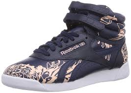 reebok high tops womens. reebok classics women\u0027s f,s hi graphics collegiate navy and corel glow gore-tex dance shoes - 5 uk: amazon.in: \u0026 handbags high tops womens