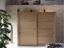 solid wood wardrobe with sliding doors quadra wardrobe by devina nais