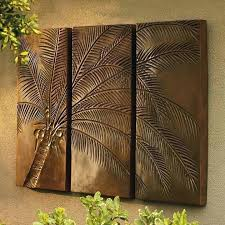 palm tree wall decor palm tree metal art bronze outdoor wall art amazing dazzling palm tree