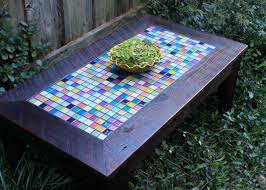 Outdoor Tile Table Top Coffee Table Amazing Mosaic Coffee Table Design Ideas Mosaic Tile