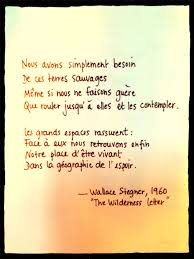 The Wilderness Letter Wallace Stegner Quotes Citation Et Je