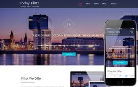 Real Estate Website Templates Beauteous Today Flats A Real Estate Category Flat Bootstrap Responsive Web