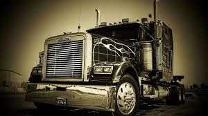 volvo semi truck image