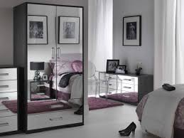 bedroom with mirrored furniture. Mirrored Bedroom Furniture Combined With B