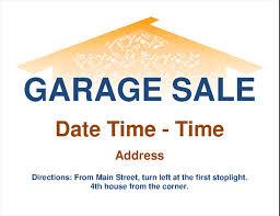 Flyer Templates Microsoft Word Garage Sale Flyer