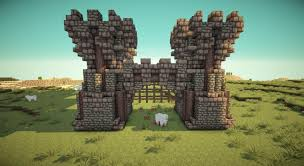 minecraft gate. Delighful Minecraft Minecraft_medieval_gate_portcullis Inside Minecraft Gate