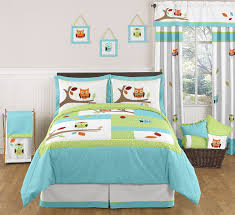 Owl Bedroom Decorating Bedroom Gorgeous Bedroom Decoration Using Turquoise Bed Sheets