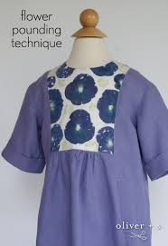 oliver s hide and seek dress with flower pounded yoke