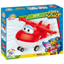<b>Конструктор Cobi</b> Super Wings 25122 <b>Jett</b>
