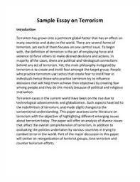 ba english essay on terrorism bace world creative and terrorism in english essays on terrorism counter terrorism thesis statement on terrorism isometric
