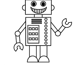 Small Picture Inspirational Robot Coloring Page 78 On Free Coloring Kids with