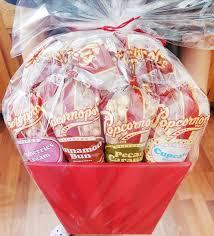 gift basket ideas gourmet popcorn gift basket dearcreatives