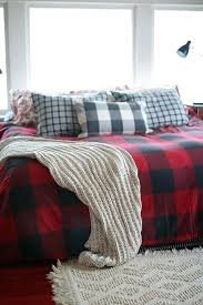 black and white buffalo check bedding pottery barn buffalo check in bedding apartment interiors with red