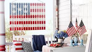 if you are looking for good ol fashioned homemade fourth of july decorations then try a diy banner attach patriotic bunting across the front of your