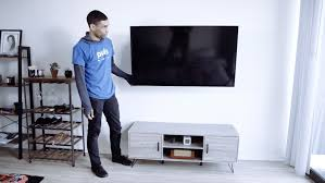install a tv without damaging the wall